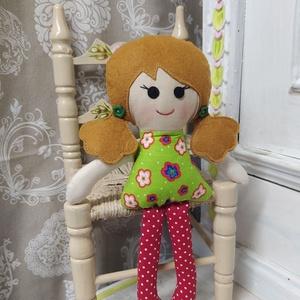 Pirkó -Öltöztethető textil baba (Szatlonekriszta) - Meska.hu