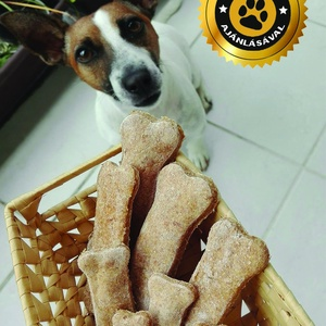 Baconös kutyakeksz, Élelmiszer, Rágcsa & Chips, Élelmiszer előállítás, Saját recept alapján kifejezetten kutyák számára készült kutyakeksz.\nTökéletes jutalomfalat kedvence..., Meska