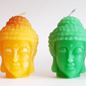 Nagy BuddhaFej gyertya (Szerelmesgyertya) - Meska.hu