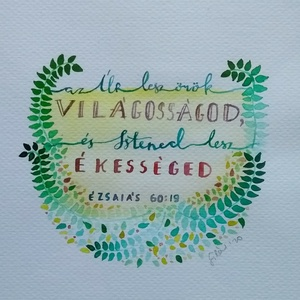 Ézsaiás 60:19 - Meska.hu