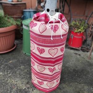 Gázpalack ruha szives mintával, Otthon & Lakás, Lakástextil, Legyen stílusa a gázpalackodnak is! Főleg, ha látható helyen van! Sokszor nagyon koszosak és csúnyák..., Meska