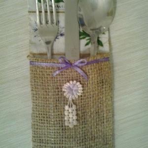 Jó étvágyat!, Otthon & lakás, Konyhafelszerelés, Lakberendezés, Asztaldísz, Szép terítéknél kellemes az ebéd, a vacsora... Ez az evőeszköztartó megszépíti a vacsora asztalt. A ..., Meska
