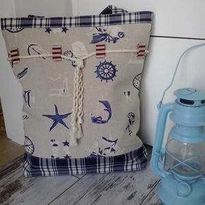 Nyári táska, Táska & Tok, Válltáska, Kézitáska & válltáska, Ha nyár, akkor strand, ha strand, akkor táska, ha táska, akkor nagy és divatos...A táskához jár egy ..., Meska