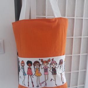 Nyári táska, Táska & Tok, Válltáska, Kézitáska & válltáska, Ez a táska egyszerre divatos és egyszerre romantikus, valamint praktikus és dísze lehet öltözékünkne..., Meska
