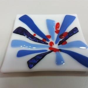 Kis tálka kék!, Otthon & Lakás, Dekoráció, Díszüveg, Üvegművészet, Meska