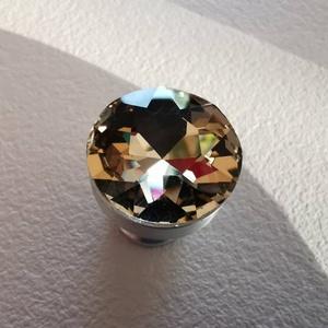 Üveg kristály fogantyú!, Otthon & Lakás, Bútor, Bútorfogantyú, Fémmegmunkálás, Meska
