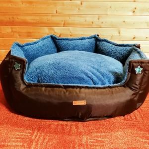 Új, minőségi, lehúzható és mosható kutyafekhely, kutyaágy, Otthon & lakás, Lakberendezés, Állatfelszerelések, Kutyafelszerelés, Varrás, -Mérete: 80 cm ; magassága 30 cm\n-Magas minőségű fekhely, ami rejtett varrással készült\n-Cipzáron ke..., Meska
