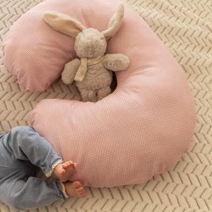 Kismamapárna / szopipárna, Gyerek & játék, Baba-mama kellék, Gyerekszoba, Varrás, U-alakú párna antiallergén töltettel, ami a várandósság kezdetétől kismamapárnának használható, a ba..., Meska