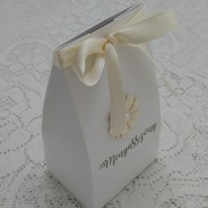 Köszönjük!  dobozka - ültetőkártya egyben dobozra nyomtatva (Szincsi) - Meska.hu