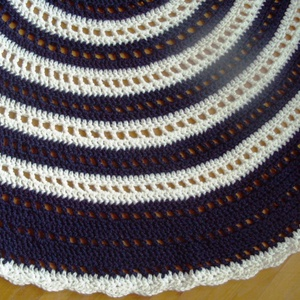 Mandala horgolt szőnyeg (SzinesGombolyagok) - Meska.hu
