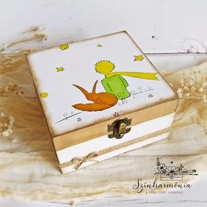 Ajándékdoboz szappannal vagy mézivel - A kis herceg és a róka - Meska.hu