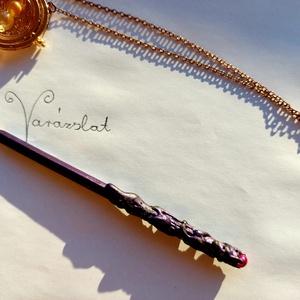 Varázspálca ceruza, Otthon & Lakás, Papír írószer, Ceruza & Toll, Festett tárgyak, Mindenmás, Fekete grafitceruza - varázspálcának álcázva, mert az írás is egy varázslat, vagy csak azért, hogy l..., Meska