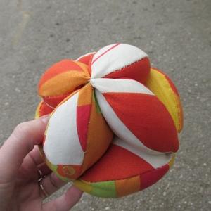 Sárga-Narancssárga Baba Labda (sziszi61) - Meska.hu