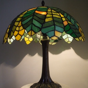 Tiffany lámpa, Művészet, Üvegművészet, Meska