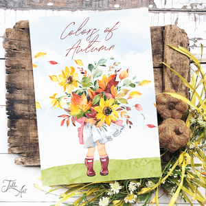 Colors of autumn 40x30 cm őszi fa tábla, Otthon & Lakás, Dekoráció, Táblakép, Famegmunkálás, Festett tárgyak, Meska