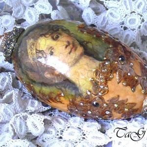 Faberge tojás imitáció (dekoráció) - Meska.hu