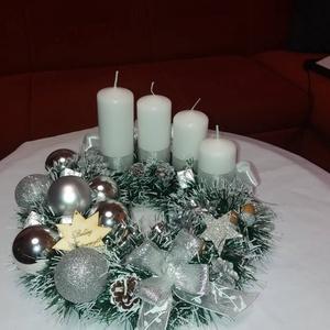 Adventi koszorú, Karácsony & Mikulás, Adventi koszorú, Mindenmás, Külömböző színű adventi koszorúk., Meska