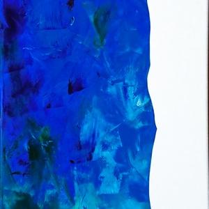 KITakar? (2018.), Otthon & lakás, Képzőművészet, Festmény, Olajfestmény, Festészet, Festmény olaj, vászon, 120x35 cm, Meska