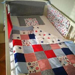 Matróz mintás patchwork babatakaró, Gyerek & játék, Baba-mama kellék, Patchwork mintás egyedi baba takarót készítettünk a csöppségeknek. Igényesen összeválogatott színekb..., Meska