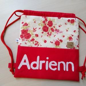 Gyerek hátizsák applikációval, Gyerek & játék, Baba-mama kellék, Egyedi,kézzel készített hátizsák. Név applikációval készült kényelmes, könnyen használható hátizsáko..., Meska