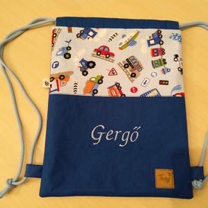 Gyerek hátizsák, Gyerek & játék, Baba-mama kellék, Egyedi,kézzel készített hátizsák. Név hímzéssel készült kényelmes, könnyen használható hátizsákot ké..., Meska