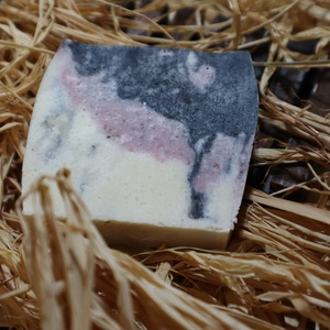Az a bizonyos rózsaszín köd - ápoló szappan, Szépségápolás, Szappan & Fürdés, Szappan, Szappankészítés, A designer szappanok kedvelőinek ajánljuk 4 féle kiváló olajból készült ápoló alkotásunk. Egy olyan ..., Meska