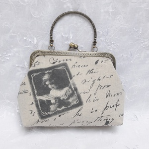 Vintage fémkeretes kistáska (Tanita01) - Meska.hu