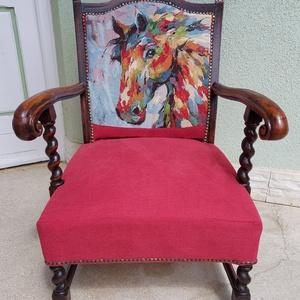 Koloniál fotel, felújított., Otthon & Lakás, Bútor, Szék & Fotel, Mindenmás, Meska