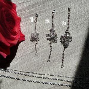 medálhoz választható ezüst lánc, többféle, Ékszer, Nyaklánc, Ékszerkészítés, Mindenmás, 50 cm hosszú ezüst színű lánc, nem állítható ~ a boltban látható medálokhoz kérhető.\nTedd kosárba mi..., Meska