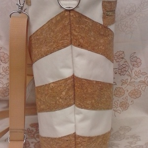 Parafa mintás, csíkos hátizsák és oldaltáska (Teafa) - Meska.hu