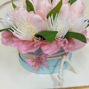 Virágbox tulipánból (Tearozsa19) - Meska.hu