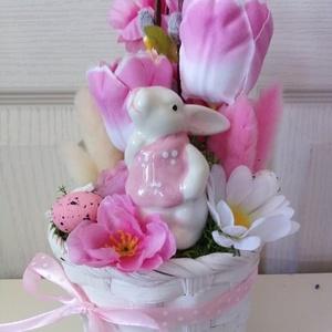 Húsvéti asztaldísz(rózsaszín) (Tearozsa19) - Meska.hu