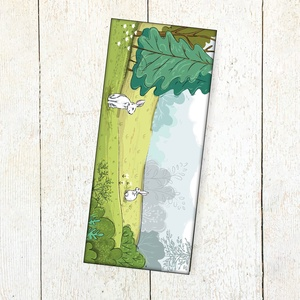 Könyvjelző, Naptár, képeslap, album, Otthon & lakás, Könyvjelző, Fotó, grafika, rajz, illusztráció, Digitális grafikával készült. \nMérete 7 x17 cm., Meska