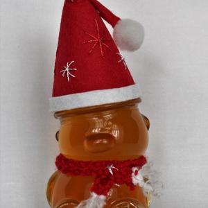 Mikulás Mézes Maci, Karácsony & Mikulás, Mikulás, Élelmiszer előállítás, Kötés, Cuki Mikulás Mézes Maci nem csak a gyerekek kedvence ! 100 gramm . Választható különleges mézfajták ..., Meska