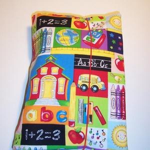 Pelenkatáska mintás (textilcseppek) - Meska.hu