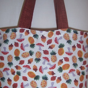 Gomba mintás táska  (textilcseppek) - Meska.hu