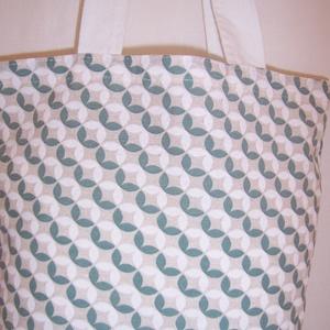 Apró levél mintás táska  (textilcseppek) - Meska.hu