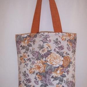 Rózsa mintás táska  (textilcseppek) - Meska.hu