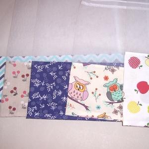 Textilzsák 5 db-os szett vegyes (textilcseppek) - Meska.hu