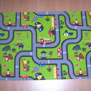 Hordozható autópálya munkagép mintás , Gyerek & játék, Baba-mama kellék, Gyerekszoba, Játék, Logikai játék, Varrás, Autópálya mintás bútorvászonból készült ez a gyerekjáték.\n\nKönnyen összehajtható, a gyerekek magukka..., Meska