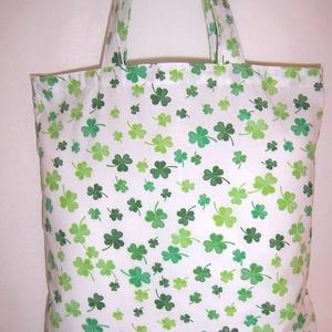 Lóhere mintás táska  (textilcseppek) - Meska.hu