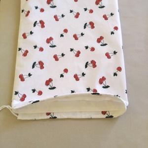 Kenyeres zsák PUL béléssel cseresznye mintás  (textilcseppek) - Meska.hu