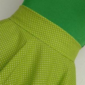 Zöld-Fehér Pöttyös Rockabilly szoknya. (textilmester) - Meska.hu