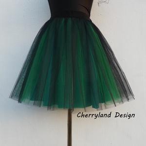 Cherryland Design Zöld Árnyalat Szoknya /Green Shades Tulle Skirt, Táska, Divat & Szépség, Gyerekruha, Ruha, divat, Női ruha, Szoknya, Varrás, Cherryland Design Zöld Árnyalat Szoknya /Green Shades Tulle Skirt\nEgyedi méretek alapján , megrendel..., Meska