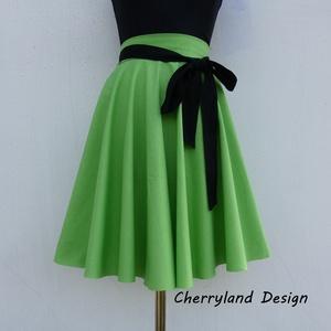Cherryland Design Zöld  Rockabilly stílusú szoknya , Táska, Divat & Szépség, Női ruha, Ruha, divat, Esküvő, Szoknya, Varrás, Cherryland Design Zöld  Rockabilly stílusú szoknya   \nEgyedi méretek alapján , megrendelésre készül...., Meska
