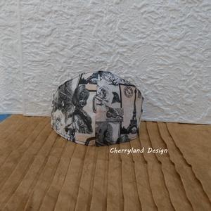 Vintage Párizs Pamutvászon Szájmaszk, NoWaste, Textilek, Táska, Divat & Szépség, Szépség(ápolás), Maszk, szájmaszk, Varrás, Cherryland Design Vintage Párizs Pamutvászon Szájmaszk.\n\n-Az anyag sajátossága miatt a minták elhely..., Meska