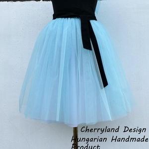 """Cherryland Design \""""Baba\""""Kék Tüll Szoknya˛/Blue Tulle Skirt, Táska, Divat & Szépség, Ruha, divat, Gyerekruha, Női ruha, Szoknya, Varrás, Cherryland Design \""""Baba\""""Kék Tüll Szoknya˛/Blue Tulle Skirt \nEgyedi méretek alapján , megrendelésre k..., Meska"""