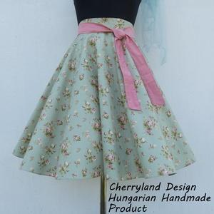 """Cherryland Design \""""Vintage\"""" Virágmintás Rockabilly Szoknya /Alsószoknyával., Táska, Divat & Szépség, Ruha, divat, Női ruha, Szoknya, Varrás, Cherryland Design \""""Vintage\"""" Virágmintás Rockabilly Szoknya /Alsószoknyával. \n\nTöbbféle mintából vála..., Meska"""