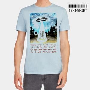UFO póló / Rontó Lili design, Ruha & Divat, Férfi ruha, Póló, Fotó, grafika, rajz, illusztráció, Mindenmás, A grafika Rontó Lili képzőművész munkája.\nKiemelkedő pólóminőség és a legkorszerűbb eljárással készü..., Meska