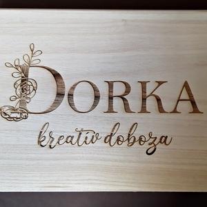 Egyedi névre szóló fadobozok (tfzsuzsa) - Meska.hu